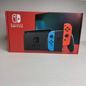Brand new! Nintendo Switch Console Neon Blue & Red
